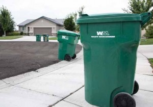 (John Byrne/Tribune) Sparks residents will see changes in their garbage service if the city approves a proposal by Waste Management.