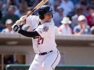 Reno Aces infielder Jamie Romak, 29, has been called up to Arizona. It's his second stint in the bigs after spending nearly a month with the Los Angeles Dodgers a season ago.
