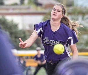 Hayley Fein, who will be a senior at Spanish Springs this fall, finished an outstanding summer with her club team, the Nevada Lightning 98, last week at the Triple Crown Sports World Series in Northern Nevada. The only regular healthy pitcher on the team for most of tournament, Fein pitched her squad to seven-straight elimination game victories. (John Byrne)