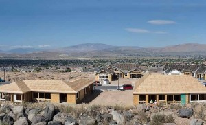 John Byrne/Tribune Additional home construction, such as this in the east Spanish Springs area, will be needed as a new study predicts an influx of new residents and jobs in Washoe County and the surrounding area.