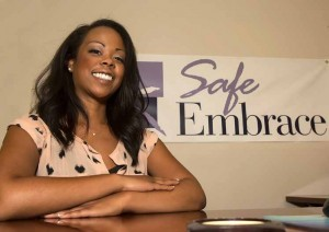 John Byrne/Tribune Vanessa Monroe is the program director at Safe Embrace, a Sparks-based non-profit organization that helps victims of domestic violence with a variety of services, including housing.