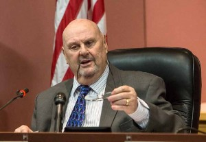 John Byrne/Tribune file photo Sparks Mayor Geno Martini has announced that he has Parkinson's disease. The mayor says he fully anticipates staying in office for the remaining three years of his term.
