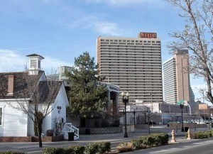 John Byrne/Tribune The Nugget hotel-casino has been purchased by Marnell Gaming, a Las Vegas company that plans an extensive renovation of the resort.