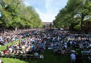 John Byrne/Tribune The Quad on Nevada's campus was packed all weekend as the University hosted three separate graduation ceremonies for its record number of 2,710 graduates.