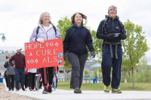 John Byrne/Tribune The second annual ALS Walk was held at the Sparks Marina Saturday, where participants raised awareness, and money to fight the disease.