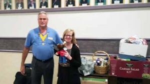 Courtesy photo Supreme Governor Terry Walls (left) made a stop at the Sparks Moose Chapter last week.