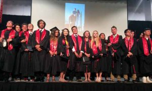 Courtesy photo Excel Christian School in Sparks graduated 20 students on June 11