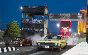 John Byrne/Tribune file photo The Nugget Resort and Casino will play host to the popular Hot August Nights Drag Races and Burnouts every night from Aug. 3-6.