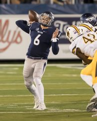 Nevada suffers first home loss of season, 42-34, to Wyoming