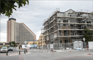 John Byrne/Tribune The close to completed Fountainhouse apartments in Victorian Square could be just the beginning of increased development in the city. The 2017-2022 Strategic Plan focuses on economic development, public safety, infrastructure/technology and citizen engagement/empowerment.