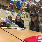 Three Reed softball players, swimmer make college plans official