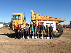 Courtesy photo - Crews broke ground recently on the new Mesa Rim Climbing & Fitness Center near downtown Reno. It's expected to open in the summer of 2017.
