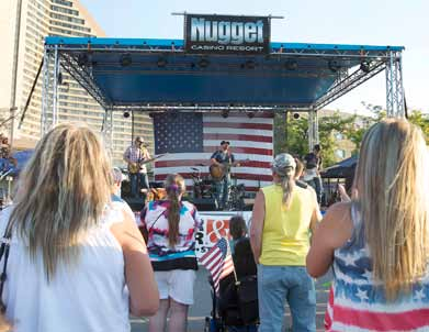 Nugget ready for annual 'Star Spangled Sparks'