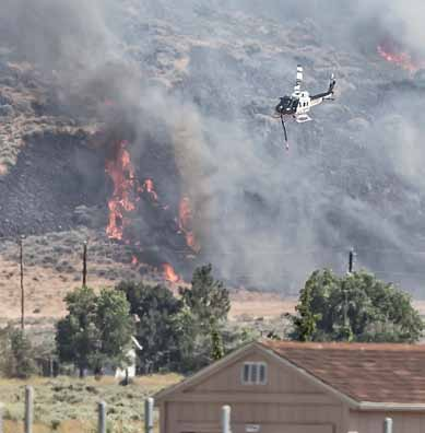 Earthstone Fire near Sparks burns 41,000 acres; almost contained