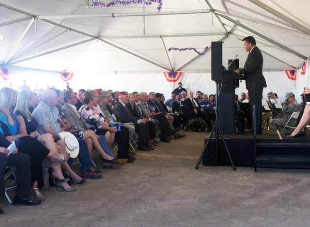 Officials break ground on new State Veterans Home in Sparks