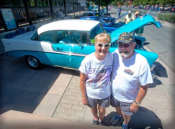 Sparks couple continues Hot August Nights tradition