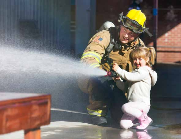 Sparks Fire Department Hosts Morning of Pancakes and Fun