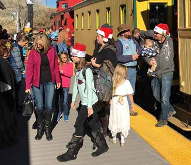 Railroad Museum Steams up for Santa Trains