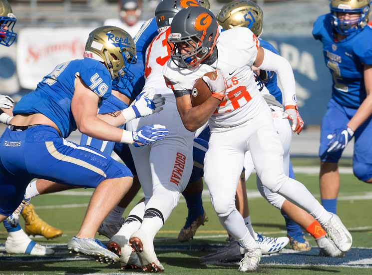 Reed Falls to Bishop Gorman in State Championship Game