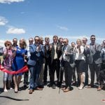 Ceremony Marks Completion of Connector
