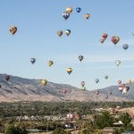 Hot Air Balloons Take over the Northern Nevada Skies