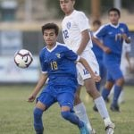 John Byrne photos/Tribune Reed outlasted Carson 2-1 at home last Wednesday.