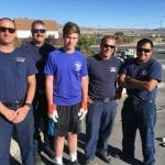 Sparks Troop's Eagle Scout Project Benefits Local Fire Station