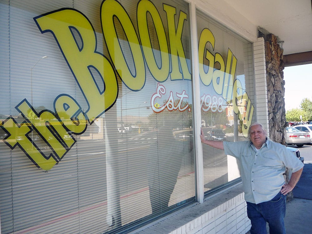 Photos courtesy of Joe Chiappetto  The Book Gallery on Rock Boulevard in Sparks is up for sale and in danger of closing if a buyer isn't found soon.