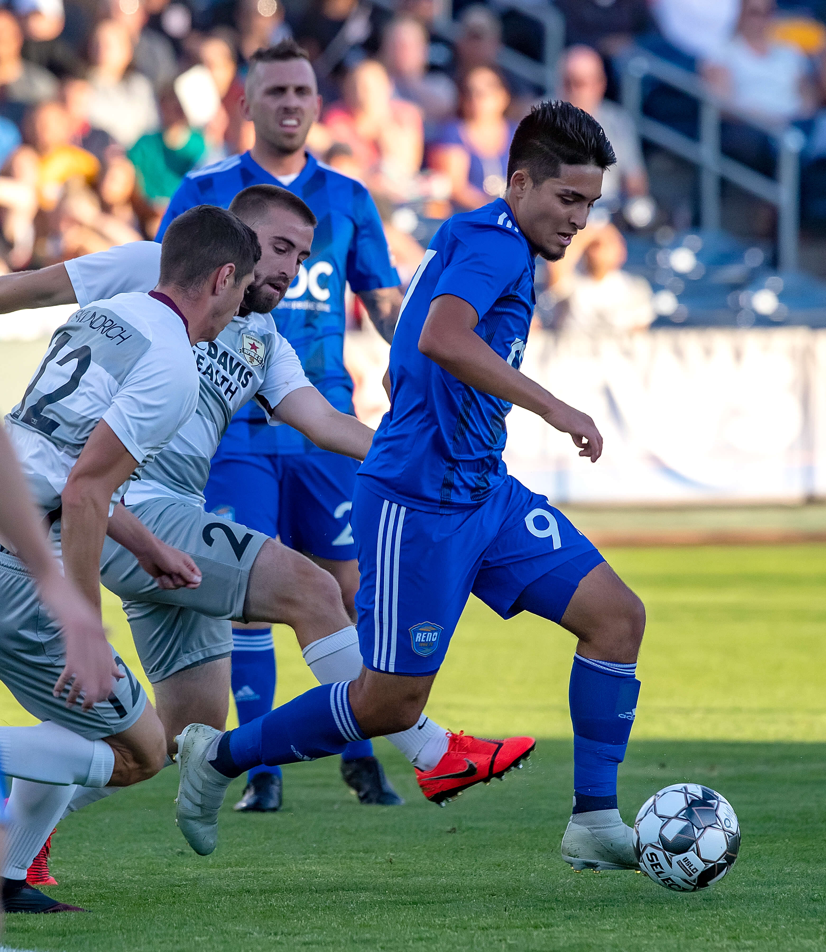 Reno Wins Third Straight, Shuts Out Rio Grande Valley 4-0